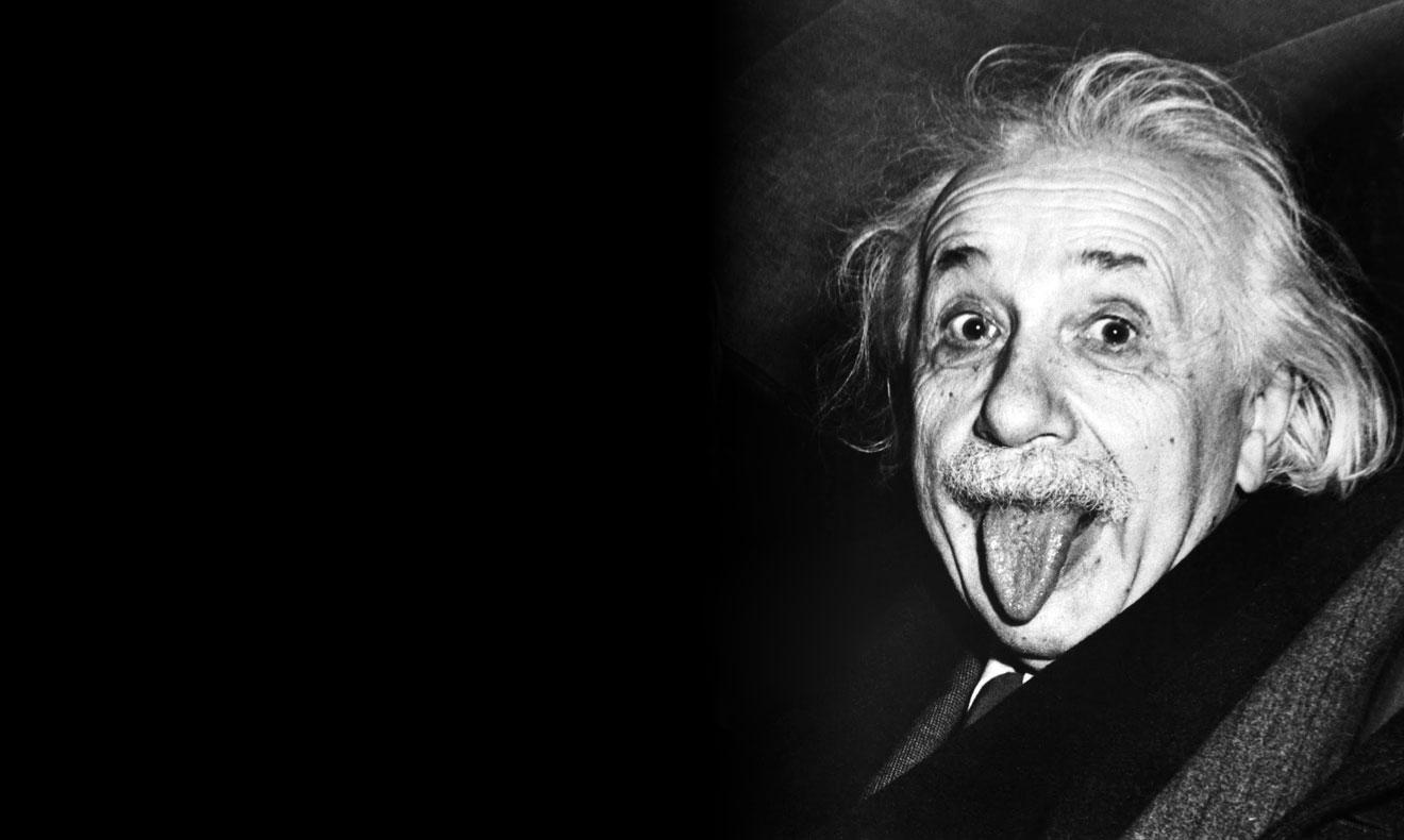 Einstein - intelligent and irreverent